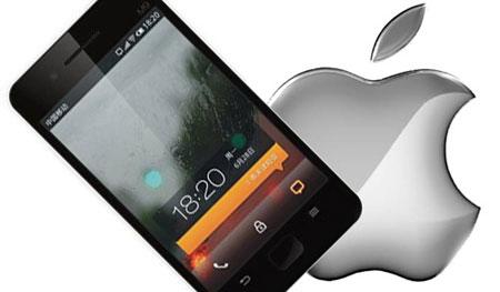 На Meizu M8 установили iOS